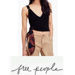 NWT Free People Paisley Pop Tank Sz Large
